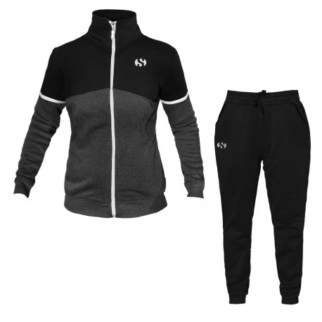 Tuta / Pigiama Donna Homewear SUPERGA Cotone Felpato Full Zip 3 Modelli