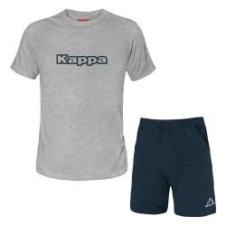 Completo Homewear Uomo KAPPA Corto Cotone 6 Colori Taglie S - 5XL