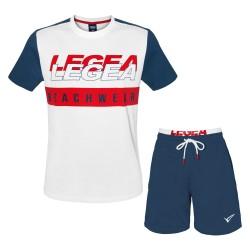 Completo Beachwear Uomo LEGEA Cotone 3 Modelli