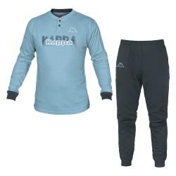 Pigiami Uomo Homewear KAPPA Cotone Interlock 3 Articoli