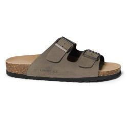 Sandalo Uomo LUMBERJACK Modello ISLA Pelle Nubuck - Art.005