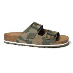 Sandalo Uomo LUMBERJACK Modello FUERTE Pelle Nubuck - Art.002